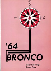 Page 5, 1964 Edition, Denton High School - Bronco Yearbook (Denton, TX) online yearbook collection