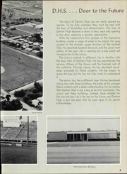 Page 9, 1965 Edition, Denton High School - Bronco Yearbook (Denton, TX) online yearbook collection