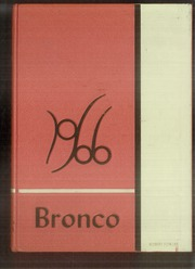 Page 1, 1966 Edition, Denton High School - Bronco Yearbook (Denton, TX) online yearbook collection