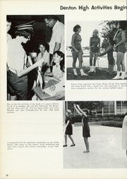 Page 14, 1966 Edition, Denton High School - Bronco Yearbook (Denton, TX) online yearbook collection