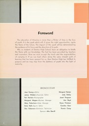 Page 6, 1966 Edition, Denton High School - Bronco Yearbook (Denton, TX) online yearbook collection