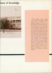 Page 9, 1966 Edition, Denton High School - Bronco Yearbook (Denton, TX) online yearbook collection