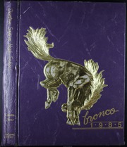 Page 1, 1985 Edition, Denton High School - Bronco Yearbook (Denton, TX) online yearbook collection