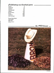 Page 5, 1985 Edition, Denton High School - Bronco Yearbook (Denton, TX) online yearbook collection