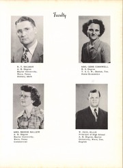 Page 15, 1950 Edition, Midway High School - Panther Paw Yearbook (Waco, TX) online yearbook collection