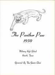 Page 9, 1950 Edition, Midway High School - Panther Paw Yearbook (Waco, TX) online yearbook collection