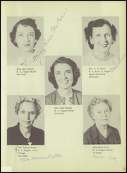 Page 13, 1955 Edition, Midway High School - Panther Paw Yearbook (Waco, TX) online yearbook collection