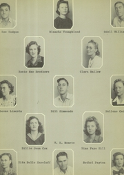 Page 34, 1942 Edition, Levelland High School - El Lobo Yearbook (Levelland, TX) online yearbook collection