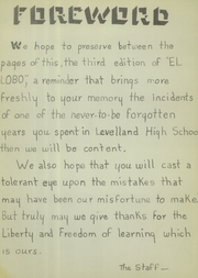 Page 6, 1942 Edition, Levelland High School - El Lobo Yearbook (Levelland, TX) online yearbook collection