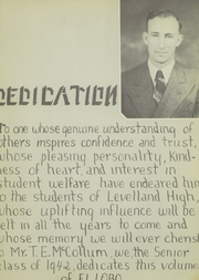Page 7, 1942 Edition, Levelland High School - El Lobo Yearbook (Levelland, TX) online yearbook collection