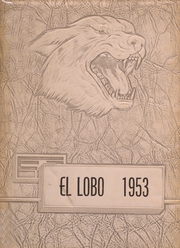 1953 Edition, Levelland High School - El Lobo Yearbook (Levelland, TX)