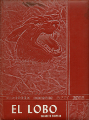 1954 Edition, Levelland High School - El Lobo Yearbook (Levelland, TX)