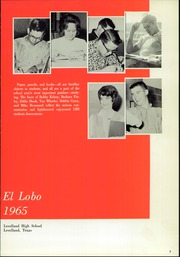 Page 5, 1965 Edition, Levelland High School - El Lobo Yearbook (Levelland, TX) online yearbook collection