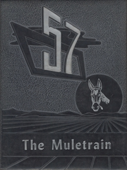 1957 Edition, Muleshoe High School - Eagle Yearbook (Muleshoe, TX)