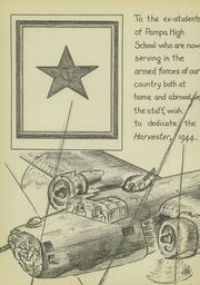 Page 10, 1944 Edition, Pampa High School - Harvester Yearbook (Pampa, TX) online yearbook collection