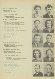 Page 15, 1944 Edition, Pampa High School - Harvester Yearbook (Pampa, TX) online yearbook collection