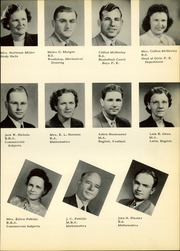 Page 13, 1950 Edition, Pampa High School - Harvester Yearbook (Pampa, TX) online yearbook collection