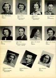 Page 14, 1950 Edition, Pampa High School - Harvester Yearbook (Pampa, TX) online yearbook collection