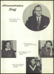 Page 13, 1954 Edition, Pampa High School - Harvester Yearbook (Pampa, TX) online yearbook collection