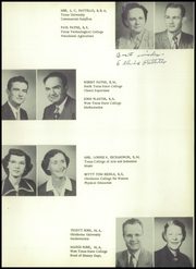 Page 17, 1954 Edition, Pampa High School - Harvester Yearbook (Pampa, TX) online yearbook collection