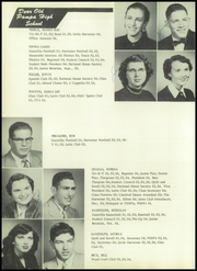Page 36, 1954 Edition, Pampa High School - Harvester Yearbook (Pampa, TX) online yearbook collection
