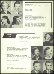 Page 37, 1954 Edition, Pampa High School - Harvester Yearbook (Pampa, TX) online yearbook collection