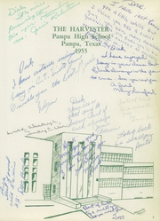 Page 7, 1955 Edition, Pampa High School - Harvester Yearbook (Pampa, TX) online yearbook collection
