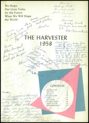 Page 7, 1958 Edition, Pampa High School - Harvester Yearbook (Pampa, TX) online yearbook collection