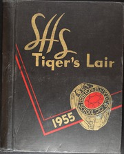 1955 Edition, Snyder High School - Tigers Lair Yearbook (Snyder, TX)
