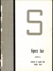 Page 5, 1955 Edition, Snyder High School - Tigers Lair Yearbook (Snyder, TX) online yearbook collection