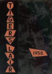 Page 1, 1958 Edition, Snyder High School - Tigers Lair Yearbook (Snyder, TX) online yearbook collection