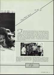 Page 9, 1984 Edition, Snyder High School - Tigers Lair Yearbook (Snyder, TX) online yearbook collection
