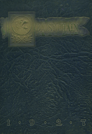 Page 1, 1927 Edition, Waco High School - Daisy Chain Yearbook (Waco, TX) online yearbook collection