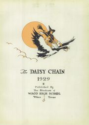 Page 9, 1929 Edition, Waco High School - Daisy Chain Yearbook (Waco, TX) online yearbook collection