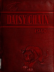 Page 1, 1940 Edition, Waco High School - Daisy Chain Yearbook (Waco, TX) online yearbook collection