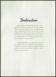 Page 10, 1945 Edition, Waco High School - Daisy Chain Yearbook (Waco, TX) online yearbook collection