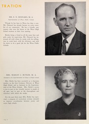 Page 13, 1951 Edition, Waco High School - Daisy Chain Yearbook (Waco, TX) online yearbook collection