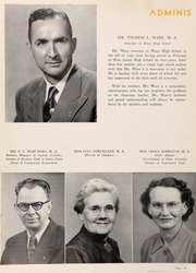 Page 14, 1951 Edition, Waco High School - Daisy Chain Yearbook (Waco, TX) online yearbook collection
