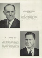 Page 13, 1953 Edition, Waco High School - Daisy Chain Yearbook (Waco, TX) online yearbook collection
