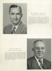 Page 14, 1953 Edition, Waco High School - Daisy Chain Yearbook (Waco, TX) online yearbook collection