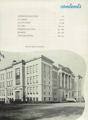 Page 9, 1953 Edition, Waco High School - Daisy Chain Yearbook (Waco, TX) online yearbook collection