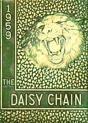 Page 1, 1959 Edition, Waco High School - Daisy Chain Yearbook (Waco, TX) online yearbook collection