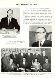 Page 17, 1966 Edition, Waco High School - Daisy Chain Yearbook (Waco, TX) online yearbook collection