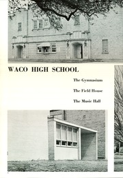 Page 6, 1966 Edition, Waco High School - Daisy Chain Yearbook (Waco, TX) online yearbook collection
