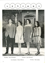 Page 14, 1969 Edition, Waco High School - Daisy Chain Yearbook (Waco, TX) online yearbook collection