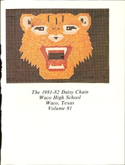 Page 5, 1982 Edition, Waco High School - Daisy Chain Yearbook (Waco, TX) online yearbook collection