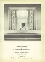 Page 5, 1953 Edition, Incarnate Word High School - Star Yearbook (San Antonio, TX) online yearbook collection