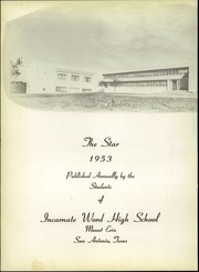 Page 6, 1953 Edition, Incarnate Word High School - Star Yearbook (San Antonio, TX) online yearbook collection