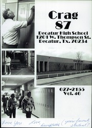 Page 5, 1987 Edition, Decatur High School - Crag Yearbook (Decatur, TX) online yearbook collection