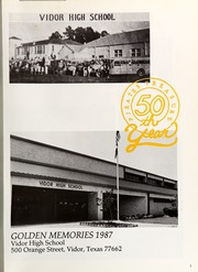 Page 5, 1987 Edition, Vidor High School - Pirates Treasure Yearbook (Vidor, TX) online yearbook collection